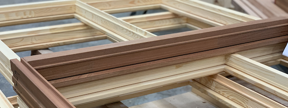 BlueRoots Window Door Components kozijnen sustainable tropical rainforest timber lumber FSC